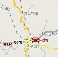 怀化至竞博国际娱乐自驾车行车线路(动画演示)