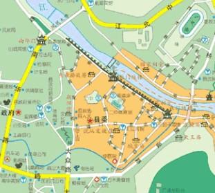凤凰古城电子地图