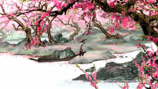 桃花林,渊明祠,诗词碑廊,方竹亭,桃花观,水源洞,御碑池_桃花源一日游