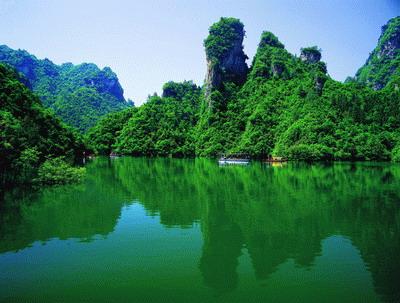 opebet宝峰湖风景区